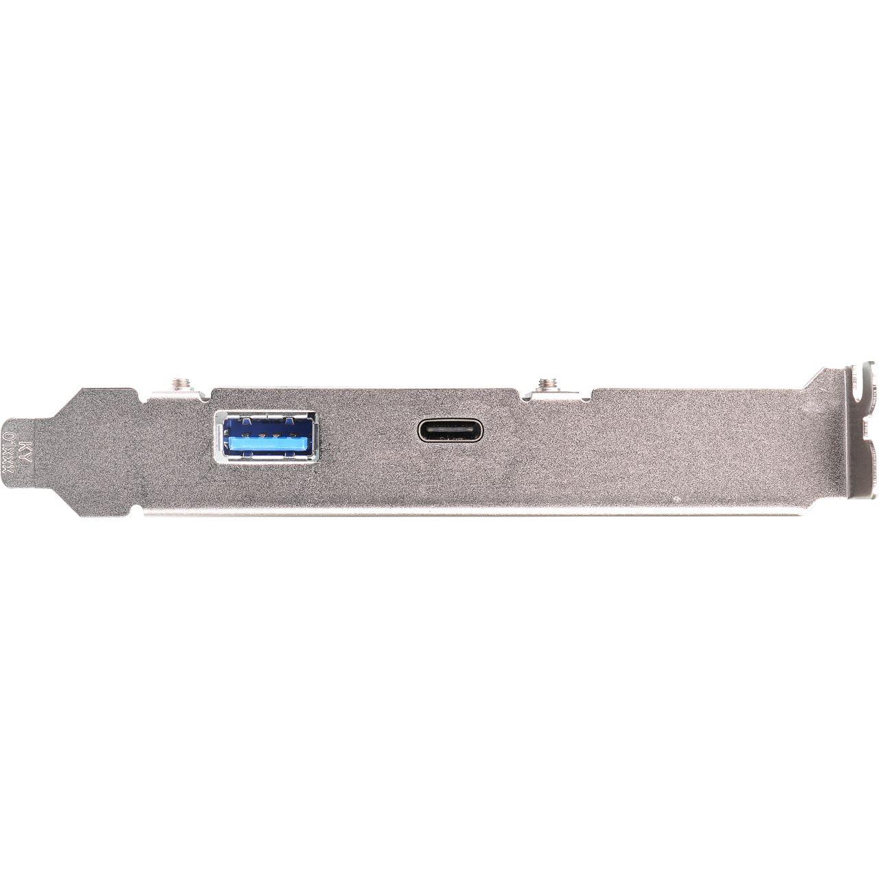 Asrock usb 3 1 a c 2 port pcie 2 0 x4 retail for Porte 1 3 2 3