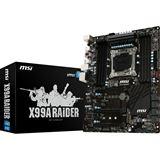 MSI X99A Raider Intel X99 So.2011-3 Quad Channel DDR4 ATX Retail