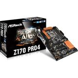 ASRock Z170 Pro4 Intel Z170 So.1151 Dual Channel DDR4 ATX Retail