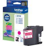 Brother Tinte LC221M LC221M magenta