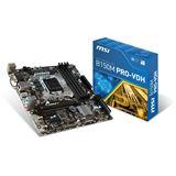 MSI B150M Pro-VDH Intel B150 So.1151 Dual Channel DDR mATX Retail