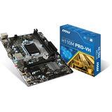 MSI H110M PRO-VH Intel H110 So.1151 Dual Channel DDR mATX Retail