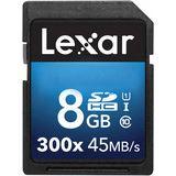8 GB Lexar Platinum II SDHC 300x Class 10 U1 Retail