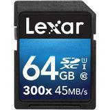64 GB Lexar Platinum II SDXC 300x Class 10 U1 Retail