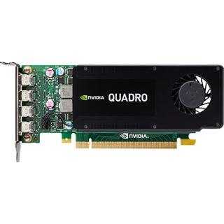 4GB PNY Quadro K1200 für DVI LP Aktiv PCIe 2.0 x16 (Retail)
