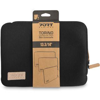 "Port Notebook Schutzhülle Torino 33,8-35,6cm (13,3-14"") schwarz"
