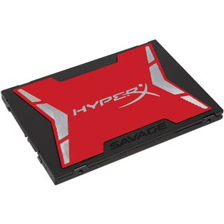 "120GB HyperX Savage 2.5"" (6.4cm) SATA 6Gb/s MLC (SHSS37A/120G)"
