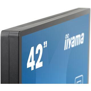 "42"" (106,68cm) iiyama TF4237MSC-B1AG Touch schwarz 1920x1080 1xDVI/1xHDMI 1.3/1xVGA/seriell"