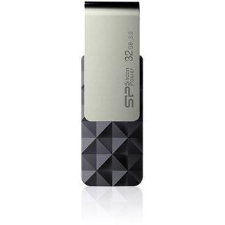 32 GB Silicon Power Blaze B30 schwarz/silber USB 3.0