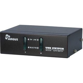 Inter-Tech AS-21UA 2-fach VGA-KVM-Switch