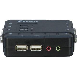 Inter-Tech KVM-CS-41UA 4-fach VGA-KVM-Switch