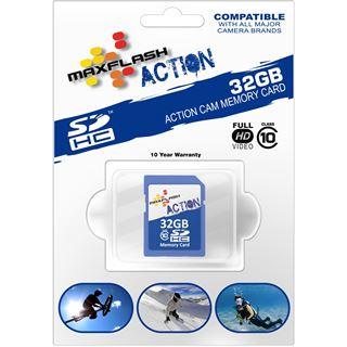 32 GB MAXFLASH Action SDHC Class 10 Retail