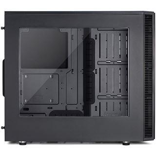 Fractal Design Define S gedämmt mit Sichtfenster Midi Tower ohne Netzteil schwarz