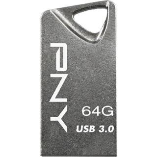 64 GB PNY Attaché T3 silber USB 3.0