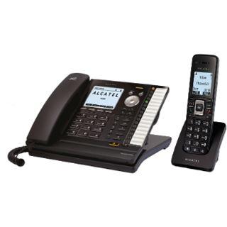 Alcatel-Lucent Temporis IP715 SIP PoE inkl. IP15 Dect handset