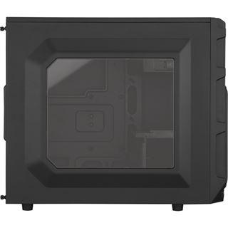 Corsair Carbide SPEC-03 LED blau mit Sichtfenster Midi Tower ohne Netzteil schwarz