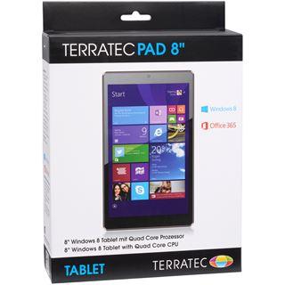 "8.0"" (20,32cm) TerraTec Pad 8 WiFi/Bluetooth V4.0 16GB schwarz"