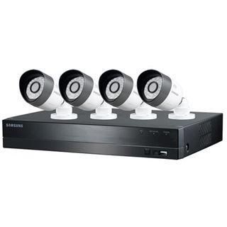 Samsung 4-Kanal-Videoüberwachungsset 720p/1TB/4 Kameras