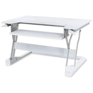 Ergotron WORKFIT-T Stand Table Top weiß