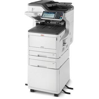 OKI MC853dnct Farblaser Drucken/Scannen/Kopieren/Faxen LAN/USB 2.0/2x RJ-11