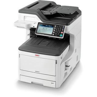 OKI MC873dn Farblaser Drucken/Scannen/Kopieren/Faxen LAN/USB 2.0/2x RJ-11