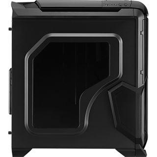 AeroCool BattleHawk mit Sichtfenster Midi Tower ohne Netzteil schwarz