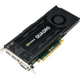 4GB PNY Quadro K4200 Aktiv PCIe 2.0 x16 (Retail)