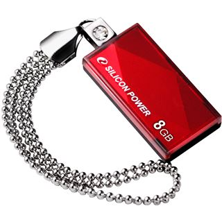 8 GB Silicon Power Touch 810 rot USB 2.0