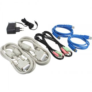 InLine 61622I 2-fach DVI-A/V-Switch