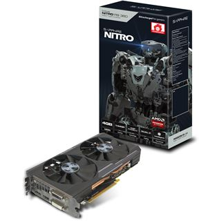 4GB Sapphire Radeon R9 380 Nitro Aktiv PCIe 3.0 x16 (Lite Retail)