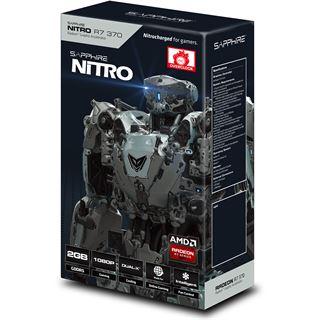 4GB Sapphire Radeon R7 370 Nitro Aktiv PCIe 3.0 x16 (Retail)