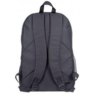 """Manhattan Notebook Rucksack Knappack bis 15,6"""" (39,62cm) schwarz"""