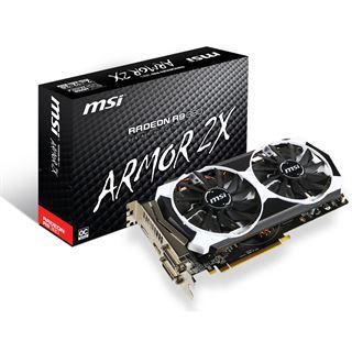 2GB MSI Radeon R9 380 Armor 2X Aktiv PCIe 3.0 x16