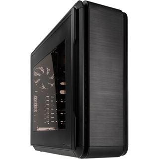 anidees AI6BW mit Sichtfenster Midi Tower ohne Netzteil schwarz