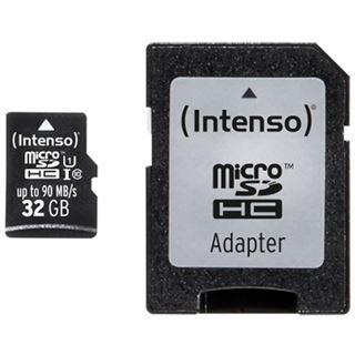32 GB Intenso Professional Performance microSDHC Class 10 U1 Retail