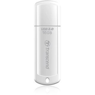 16 GB Transcend JetFlash 370 weiss USB 2.0