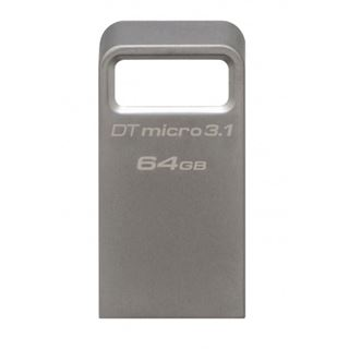 64 GB Kingston DataTraveler Micro grau USB 2.0