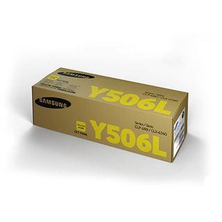 Samsung CLTY506L Tonerpatrone 3500 Seiten, für CLP-680DW, CLX6260FS etc. gelb