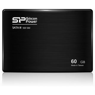 "60GB Silicon Power S60 2.5"" (6.4cm) SATA 6Gb/s MLC (SP060GBSS3S60S25)"