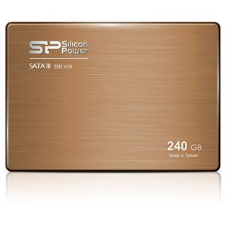 "240GB Silicon Power V70 2.5"" (6.4cm) SATA 6Gb/s MLC Toggle (SP240GBSS3V70S25)"
