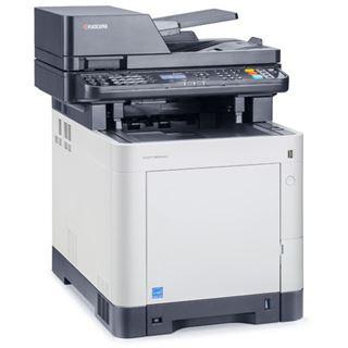 Kyocera Ecosys M6530cdn/KL3 Farblaser Drucken / Scannen / Kopieren / Faxen Cardreader / LAN / USB 2.0