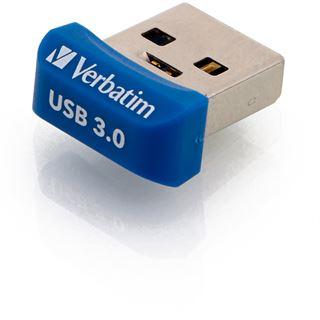 16 GB Verbatim Store `n` Stay NANO blau USB 3.0