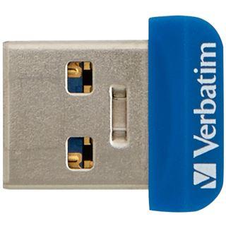 64 GB Verbatim Store `n` Stay NANO blau USB 3.0