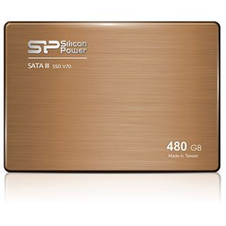 "480GB Silicon Power Velox V70 2.5"" (6.4cm) SATA 6Gb/s MLC Toggle (SP480GBSS3V70S25)"