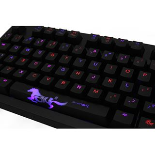 Ducky Tastatur CHERRY MX USB Deutsch schwarz (kabelgebunden)