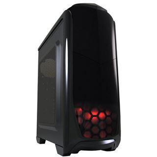 LC-Power 976B Dark Trooper mit Sichtfenster Midi Tower ohne Netzteil schwarz