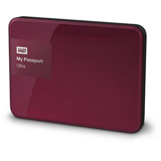 "3000GB WD My Passport Ultra WDBBKD0030BBY-EESN 2.5"" (6.4cm) USB 3.0 rot"