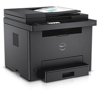 Dell E525w Farblaser Drucken / Scannen / Kopieren / Faxen LAN / USB 2.0 / WLAN