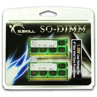 8GB G.Skill Standard DDR3L-1600 SO-DIMM CL9 Dual Kit