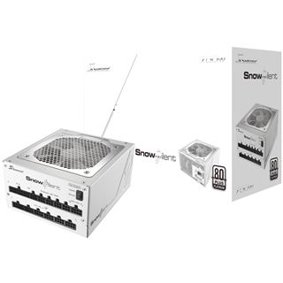 750 Watt Seasonic Snow Silent Modular 80+ Platinum